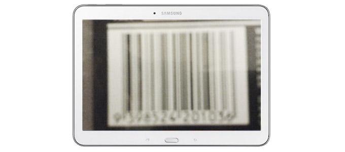 Samsung Galaxy Barcoding Fail