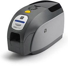 Zebra badge printer